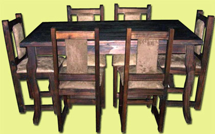 Heredianos com eco muebles en mercedes norte de heredia for Fabrica sillas comedor